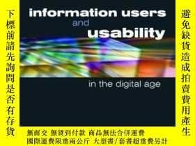 二手書博民逛書店Information罕見Users And Usability