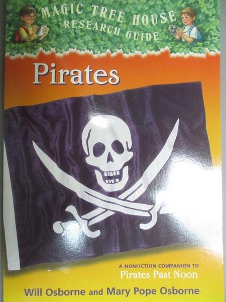 【書寶二手書T2/兒童文學_LCR】Pirates_Mary Pope Osborne