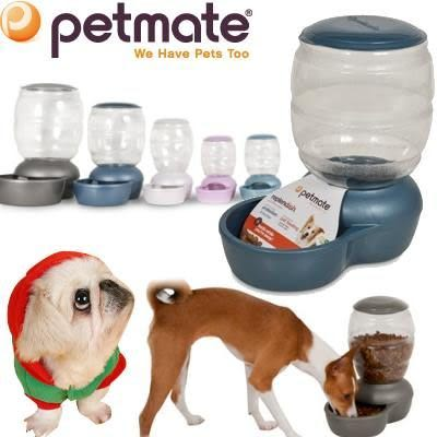 【zoo寵物商城】 Petmate》replendish 寵物餵食器XS (容量1KG)