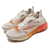 Reebok 慢跑鞋 ZIG Kinetica Horizon 米白 橘 女鞋 透氣 緩震 運動鞋【ACS】 FW6269
