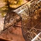 桌布軟玻璃餐桌茶幾墊塑料pvc水晶板北歐防水防油防燙免洗電視柜桌布快速出貨YJT