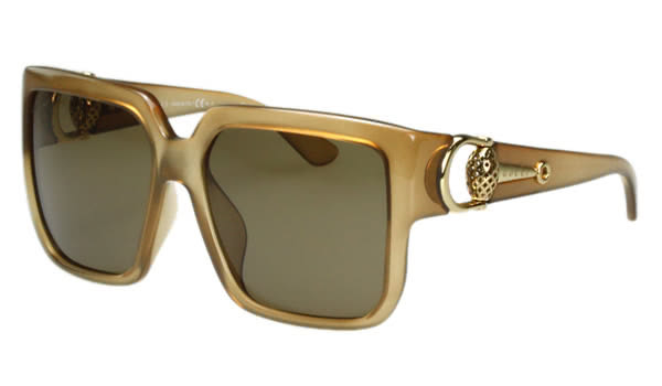 GUCCI-時尚太陽眼鏡 (焦糖色)