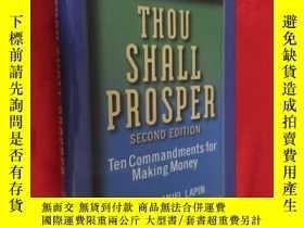 二手書博民逛書店Thou罕見Shall Prosper: Ten Command