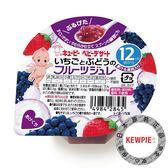【KEWPIE】FJ-4 寶貝水果鮮凍 草莓葡萄 70g