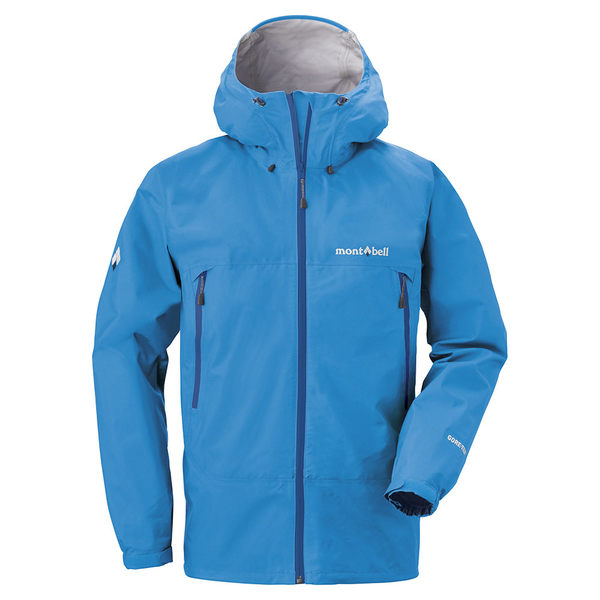 [好也戶外]mont-bell Rain Dancer Jacket男款連帽風雨衣/鈷藍 No.1128618-CEBL