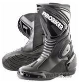 【德國Louis】PROBIKER 長筒摩托車靴 高筒重型機車鞋 黑色真皮防水