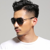 太陽眼鏡男士太陽鏡偏光墨鏡男2020新款潮人個性眼睛開車司機鏡蛤蟆鏡駕駛眼鏡  後街五號