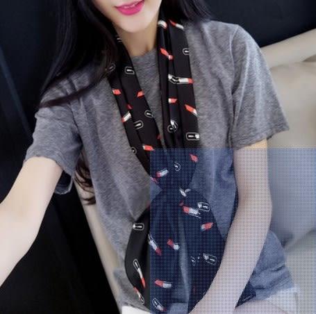 [協貿國際]  女士春秋季可愛流行時尚百搭圍巾頭巾領巾 (1入)