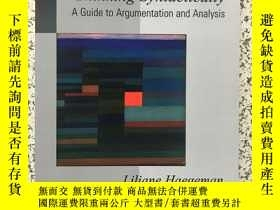 二手書博民逛書店Thinking罕見syntactically: A guide to argumentation and ana