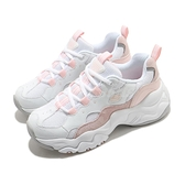 Skechers 休閒鞋 D Lites 3-High Alert 白 粉 女鞋 麂皮 皮革 運動鞋 【ACS】 88888210WLPK