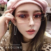 《Caroline》年度最新網紅款潮流行百搭抗UV時尚太陽眼鏡 72506
