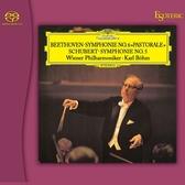 【SACD】貝多芬:F大調第六號交響曲作品68「田園」;舒伯特: 降B大調第五號交響曲,作品485