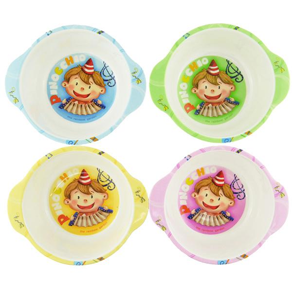 小木偶卡通碗(雙耳)/兒童碗/飯碗 NO.2003