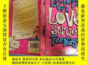 二手書博民逛書店letters罕見of a love struc teenager 青少年情書Y200392