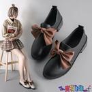 皮鞋 小皮鞋女英倫鞋子女2021年新款秋鞋百搭潮秋天黑色豆豆鞋單鞋 618狂歡