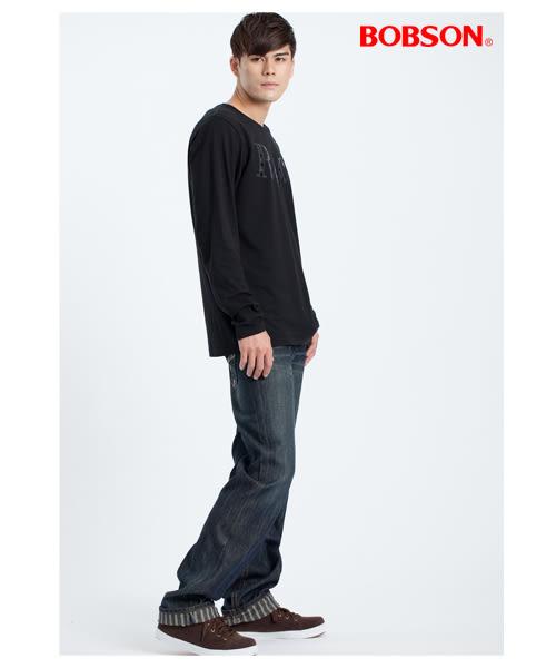 BOBSON   男款貼鋁片印圖上衣(32012-88 )