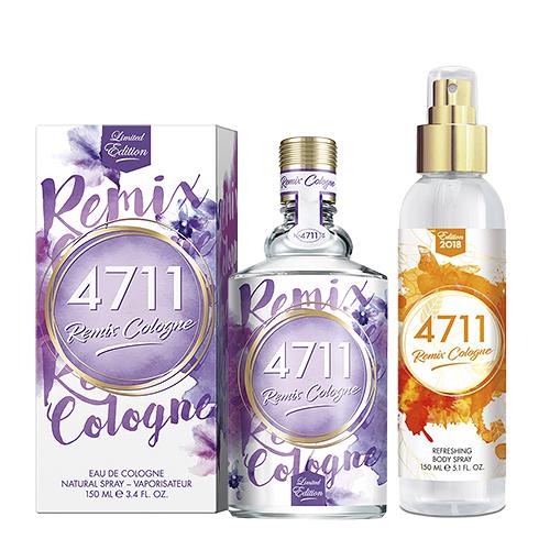 【4711】Lavender 經典薰衣草古龍水150ml 搭贈 身體噴霧150ml