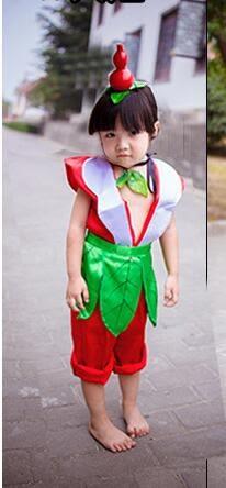 熊孩子❤環保表演服葫蘆娃舞台成人幼兒六一表演服裝(主圖款2)