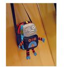 【韓風童品】機器人側背包  兒童側背包   小朋友外出背包  兒童旅游休閑背包
