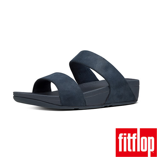 FitFlop TM-SHIMMY TM OPUL SLIDE-海軍藍