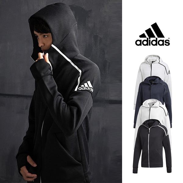 【GT】Adidas ZNE 3.0 藍 連帽外套 長袖 運動 休閒 保暖 合身 愛迪達 彭于晏 林書豪 零秒解鎖 CY7374