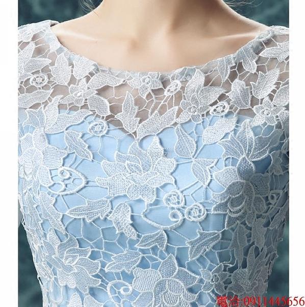(45 Design)  7天到貨 禮服婚紗晚禮服短款晚宴年會 結婚小禮服短裙 大小顏色款式都能訂製17