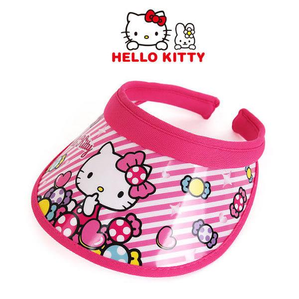 里和Riho HelloKitty凱蒂貓兒童遮陽帽 - 繽紛糖果 防曬帽 海邊帽 沙灘帽 SANRIO 三麗鷗