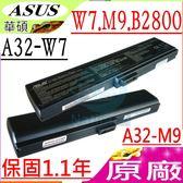 ASUS 電池(原廠)-華碩 電池 M9,M9v,M9j,A32-M9,W7,W7a,W7j,W7sg,A32-W7,HP B2800 B2806,70-ndq1b1000,(黑)