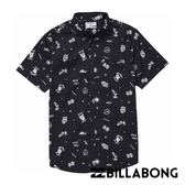 BILLABONG SUNDAY MINI 短袖襯衫 (印花黑) 【GO WILD】