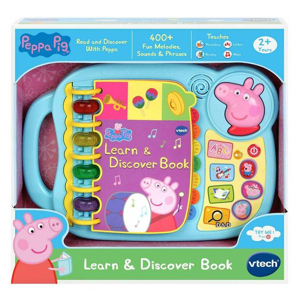 【 英國 Vtech 】粉紅豬小妹 - 字母故事啟蒙學習書╭★ JOYBUS玩具百貨