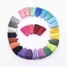 手工DIY飾品配件材料,韓國麂皮絨彩色流蘇,永生花鑰匙扣配件