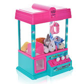 玩具 抓煙機  迷妳夾公仔機兒童抓娃娃機糖果扭蛋機小型家用投幣男女玩具遊戲機 igo 玩趣3C