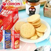 韓國 Orion 好麗友夾心餅 夾心餅 餅乾 巧克力夾心餅 起司夾心餅