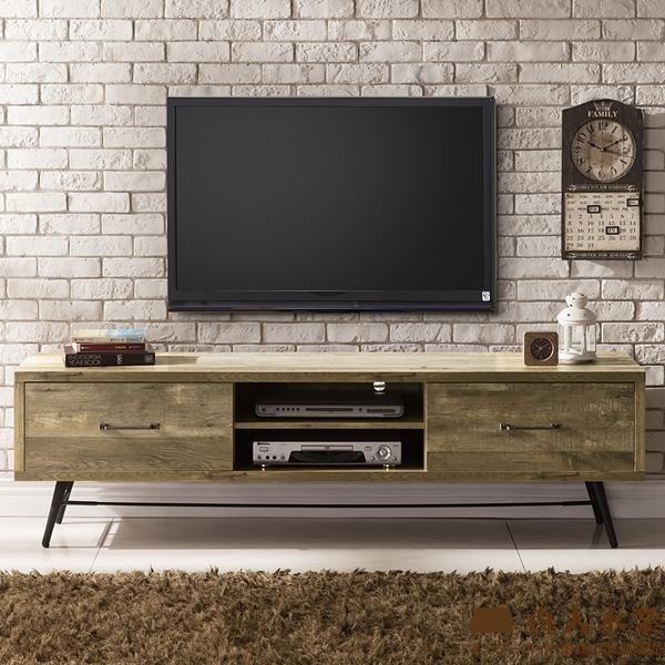 日本直人木業-CASAR原木風格180CM電視櫃