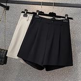 L4XL胖妹妹大碼西裝短褲~大碼女裝西裝短褲女200斤胖妹妹短褲五分褲4F074莎菲娜