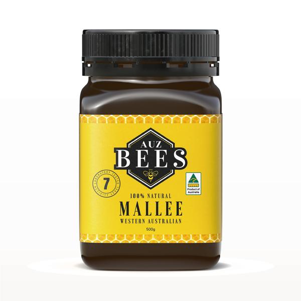 【Auz bees 澳蜜工坊】 小葉桉蜂蜜TA07 500克 (100%澳洲天然活性蜂蜜)