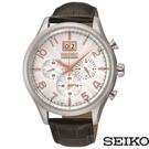 SEIKO 精工 SPC087P1 (7T04-0AE0W) 防水 三眼 計時 男錶/42mm
