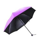 便攜晴雨傘女摺疊創意清新遇水開花遮陽防曬小巧學生太陽傘男兩用 米希美衣
