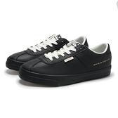 PONY 休閒鞋 黑色 板鞋 皮革 女 (布魯克林) 84W1MC01BK