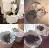 海外版日本IRIS愛麗思貓砂盆蝸居式全封閉大號貓廁所防外濺防帶砂LG-22970