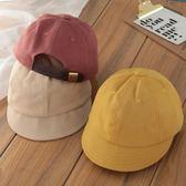 兒童鴨舌帽韓版春天日系平沿帽男童復古太陽帽女童遮陽帽寶寶帽子