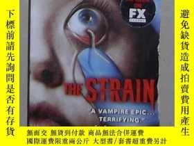 二手書博民逛書店英文原版罕見The Strain by Guillermo De