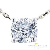 GIA鑽石項鍊 1克拉 DSI1 18K金台 亞帝芬奇 簡約大方