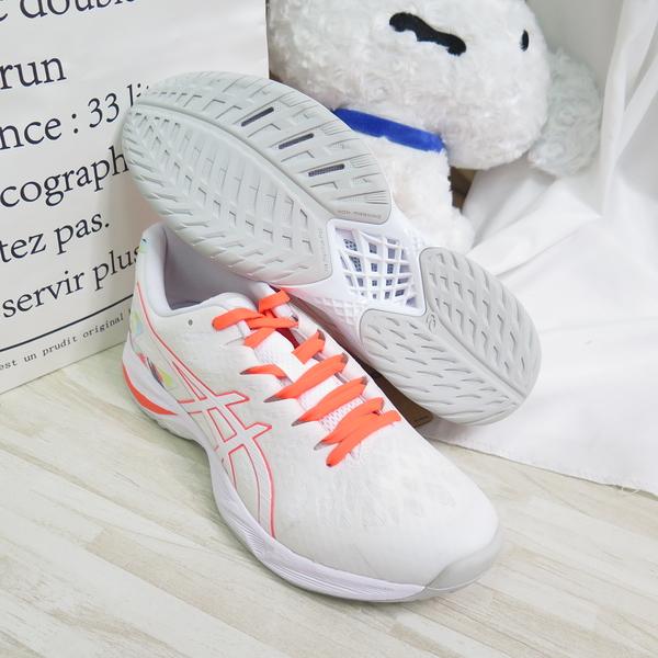 ASICS V - SWIFT FF 排球羽球鞋 男款 東奧特別版 1053A039960 白橘【iSport愛運動】