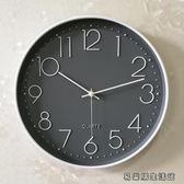 鐘表掛鐘客廳靜音電池墻貼石英鐘