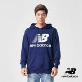 【New Balance】連帽長袖上衣_AMT91547PGM_男性_深藍