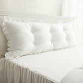 韓版全棉床頭軟包靠墊大靠背公主雙人長靠枕可拆洗靠枕床頭床靠 【韓語空間】