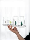 卡通瀝水杯架玻璃杯子架收納家用放杯子架子瀝水架置物架杯架 B 小明同學