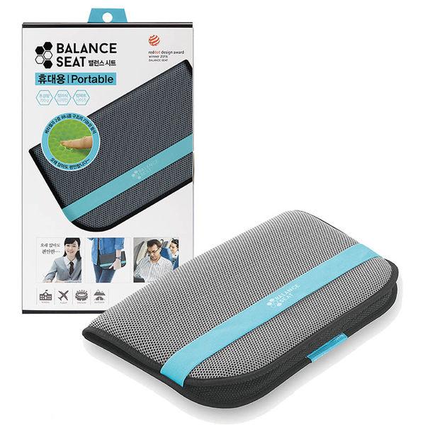 【Bullsone】攜帶型蜂巢凝膠健康坐墊-灰色