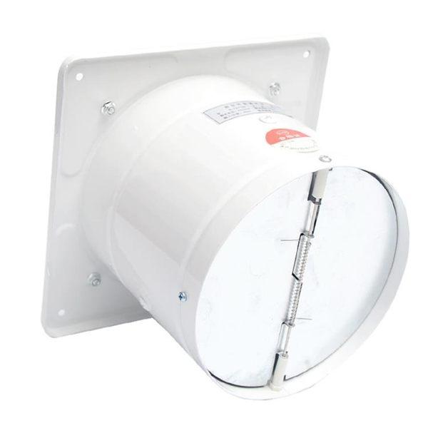 6寸排氣扇家用衛生間排風扇廚房油煙強力抽風機小型窗式換氣扇150 MKS薇薇
